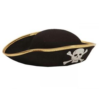 Piráti - Dětský klobouk Pirát 56 cm