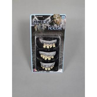 Karnevalové doplňky - Zuby Zombie 3 ks
