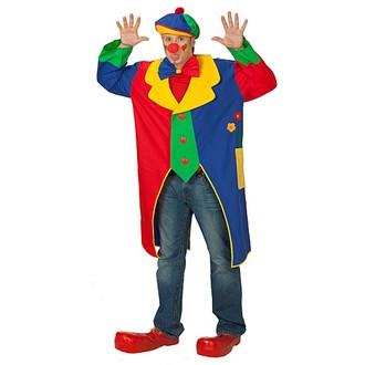 klaunský kabát-karnevalové kostýmy pro dospělé a děti - klaunské ... f1e0f791c87