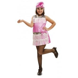 Kostýmy - Dětský kostým Charleston růžový