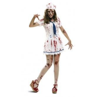 Halloween, strašidelné kostýmy - Kostým Zombie námořnice