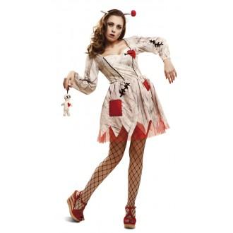 Halloween, strašidelné kostýmy - Kostým Voodoo panenka
