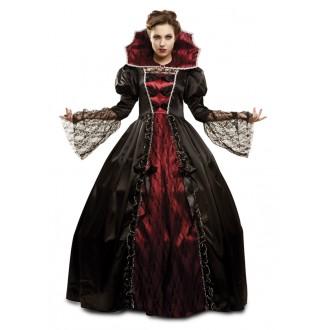 Halloween, strašidelné kostýmy - Kostým Vampírka deluxe