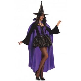 Čarodějnice - Kostým Čarodějnice pro dospělé lila