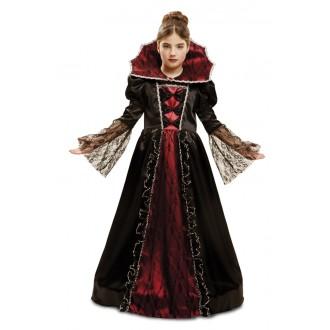 Halloween, strašidelné kostýmy - Dětský kostým Princezna vampírka