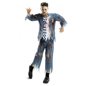 Halloween, strašidelné kostýmy - Kostým Zombie školák