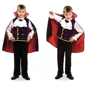 Halloween, strašidelné kostýmy - Dětský kostým Král Vamp