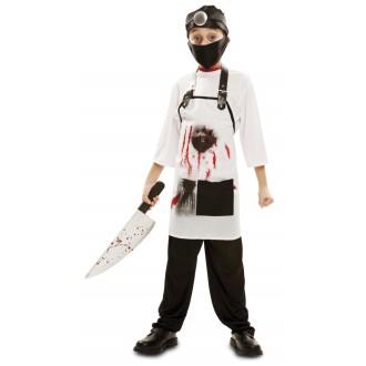 Halloween, strašidelné kostýmy - Dětský kostým Doktor zabiják