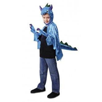 Kostýmy - Dětský kostým Dinosaurus modrý