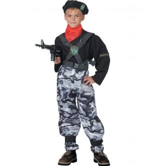 Povolání, řemesla, profese - Dětský kostým Voják ll