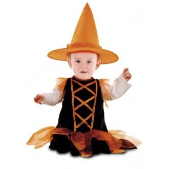 Čarodějnice - Dětský kostým Čarodějnice pro miminko