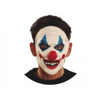 Masky - Maska obličejová Zjizvený klaun