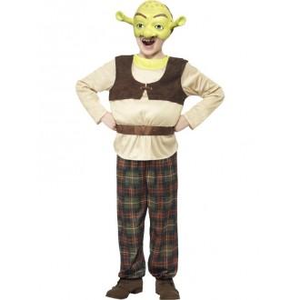 Kostýmy z filmů a pohádek - Dětský kostým Shrek