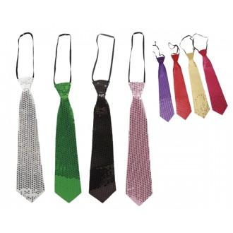 Karnevalové doplňky - Flitrová kravata