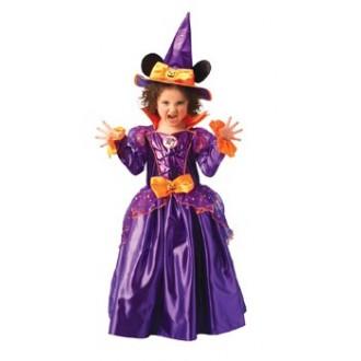 Čarodějnice - Dětský kostým čarodějnice Minnie Mouse