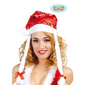 Klobouky-čepice-čelenky - Vánoční čepice s copy