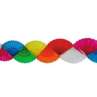 Karnevalové doplňky - Girlanda čad barevná