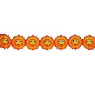 Karnevalové doplňky - Girlanda plamínky