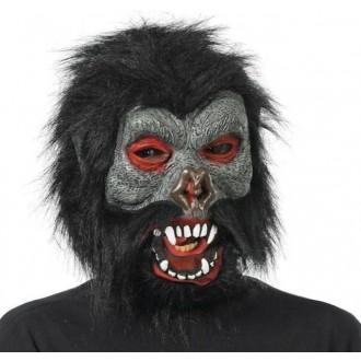 Masky - Maska gorila s vlasy