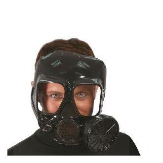 Masky - Protiplynová maska černá