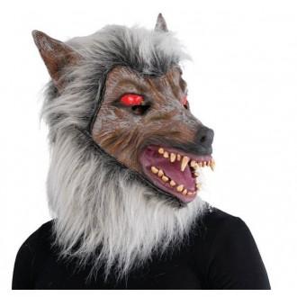 Masky - Maska vlka s hřívou