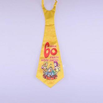 Karnevalové doplňky - Kravata Mám 60
