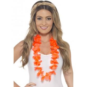 Havajská párty - Havajský věnec oranžový