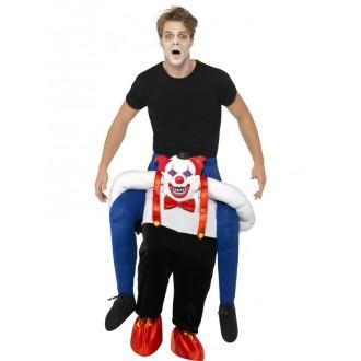 Halloween, strašidelné kostýmy - Kostým Klaun únosce