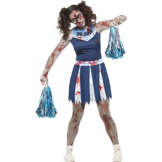 Halloween, strašidelné kostýmy - Kostým Zombie cheerleader