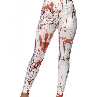 Halloween, strašidelné kostýmy - Legíny Zakrvácené na Halloween