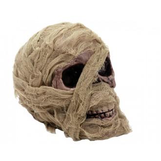 Halloween, strašidelné kostýmy - Lebka s obvazem