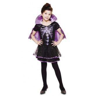 Halloween, strašidelné kostýmy - Dětský kostým na Halloween Upíří kostlivka