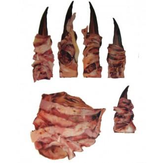 Halloween, strašidelné kostýmy - Zranění tetování na ruku pruhy kůže
