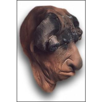 Mikuláš - Čert - Anděl - Maska Čert s beraníma rohama