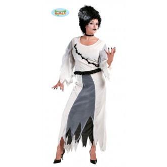 Kostýmy Halloween - Výprodej - kostým madam Frankestein