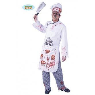 Kostýmy Halloween - Výprodej - halloweenský kostým kuchaře