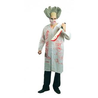 Kostýmy Halloween - Výprodej - kostým zombie doktor