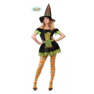 Čarodějnice - maškarní kostým čarodějnice