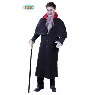 Kostýmy Halloween - Výprodej - kostým upíra Dráculy