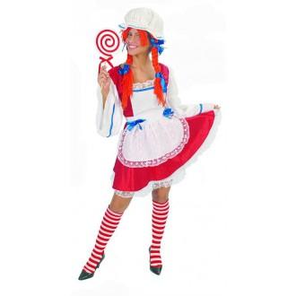 Výprodej Karneval - kostým pipina včetně čepice s vlasy