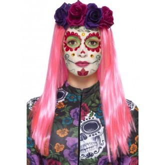 Halloween, strašidelné kostýmy - Sada Neon Day of the dead