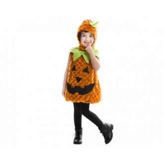 Halloween, strašidelné kostýmy - dětský kostým dýně na Halloween