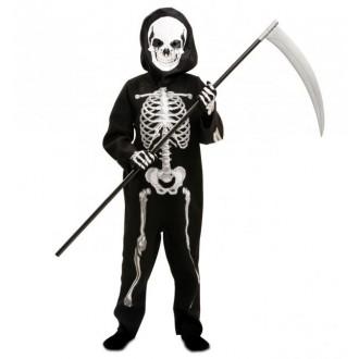 Halloween, strašidelné kostýmy - Dětský kostým Kostlivec na halloween