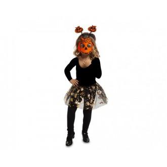 Halloween, strašidelné kostýmy - Dětská sada Dýně