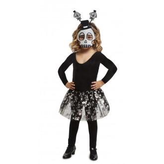 Halloween, strašidelné kostýmy - Dětská sada Kostlivec