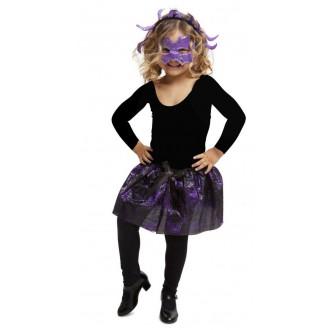 Halloween, strašidelné kostýmy - Dětská sada Pavouk