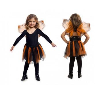 Kostýmy - Dětská sada Oranžový motýlek