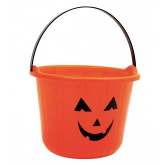 Halloween, strašidelné kostýmy - Kyblík Dýně