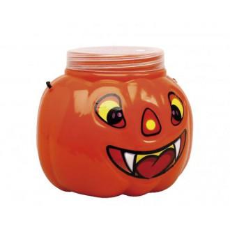 Halloween, strašidelné kostýmy - Dýně se šroubovacím uzávěrem