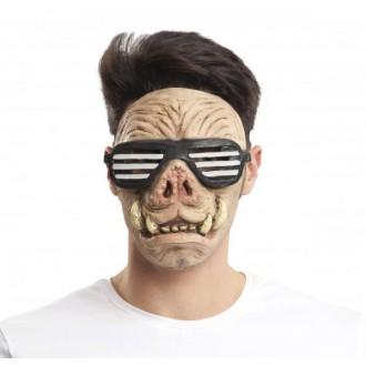 Masky - Maska obličejová Prasečí jezdec